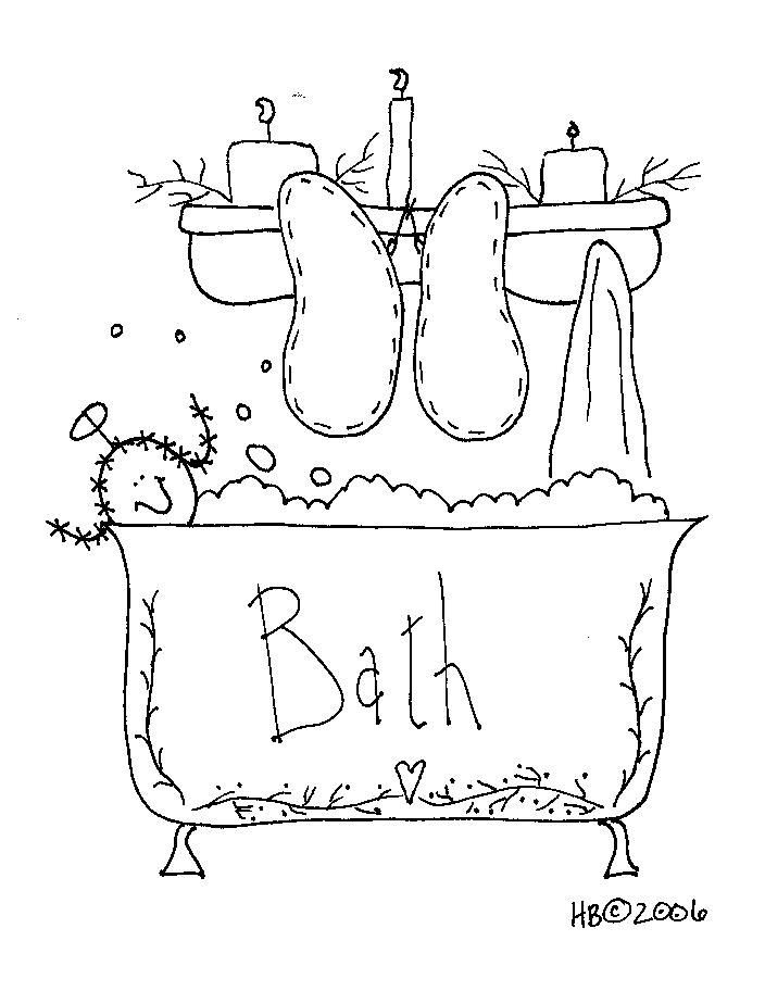 dandose un baño