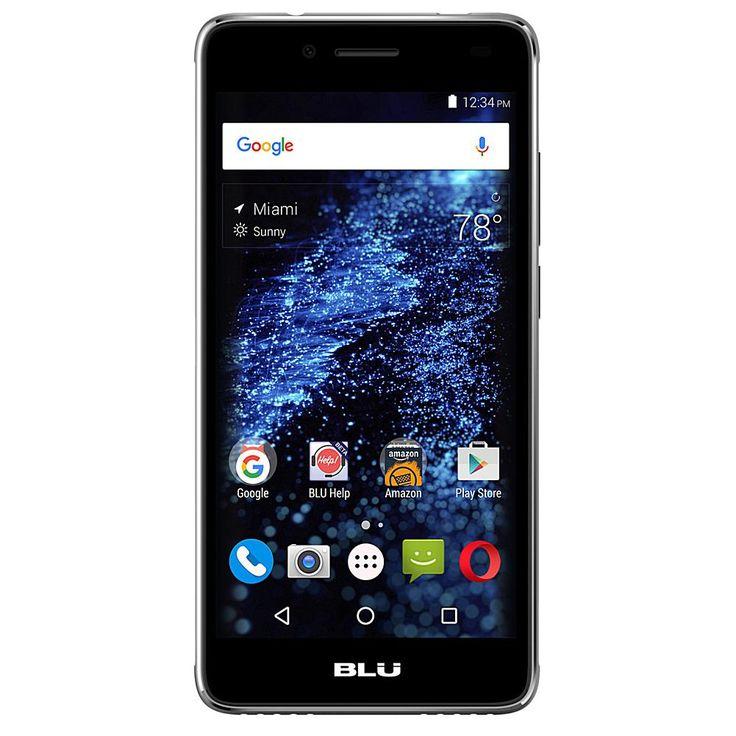 "BLU Studio Selfie 2 5"" 8GB Dual-SIM Unlocked GSM Android Lollipop Smartphone - Gray/Grey"