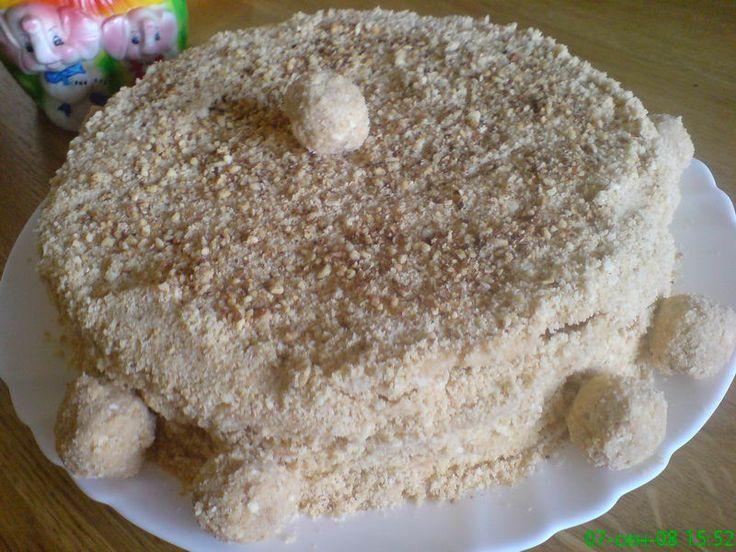Кулинария торт из песочного теста