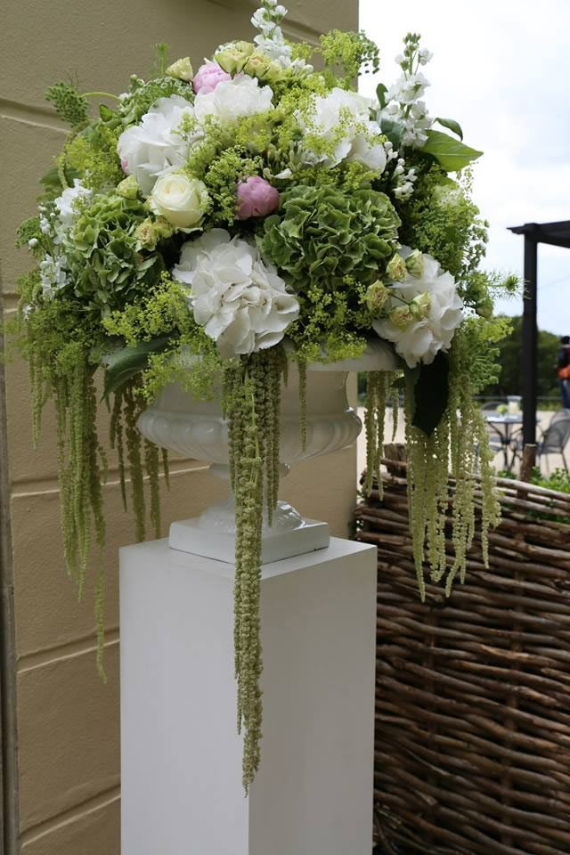 Wedding flowers for a reception at the Belvedere in #hollandpark #london by Phillo Flowers