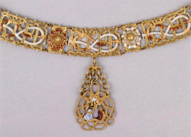 Gran collare dell'Ordine Supremo della Santissima Annunziata (massima onorificenza di Casa Savoia)