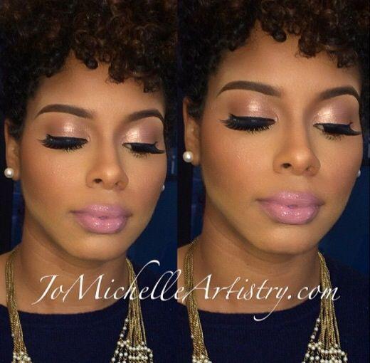 nice wedding makeup for black women best photos