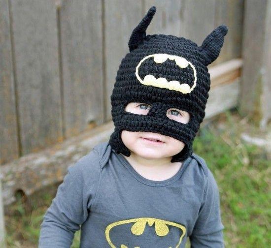 Crochet Batman Hat Free Pattern
