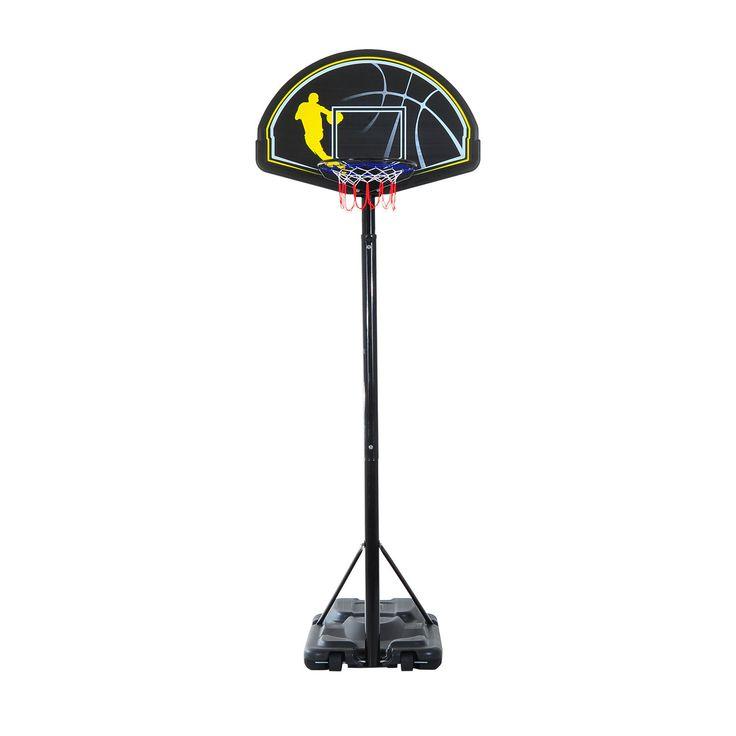44 x 28 Backboard Adjustable Basketball Hoop System Outdoor Stand w/ Wheels