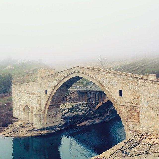 ''Malabadi bridge in Silvan'' photo by Fedja Salihbasic http://instagram.com/felecool   #comeseeturkey