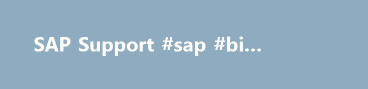 SAP Support #sap #bi #solutions http://swaziland.remmont.com/sap-support-sap-bi-solutions/  # SAP Analytics Struggling to understand what s going on in your business? Use the leading analytics tools from SAP. SAP Analytics combines all analytical capabilities – including planning, predictive analytics, and business intelligence (BI) in a single solution. Take advantage of a modern, intuitive user experience to get answers to the most important questions affecting your business today. SAP…