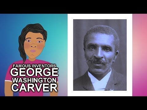 ▶ George Washington Carver Story (Famous Inventor) Biography for Children(Cartoon) Black History Month - YouTube