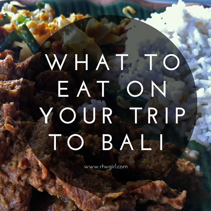 Planning a trip to Bali, Indonesia? I shared a list of delicious local foods to try when you're visiting the island of the gods.