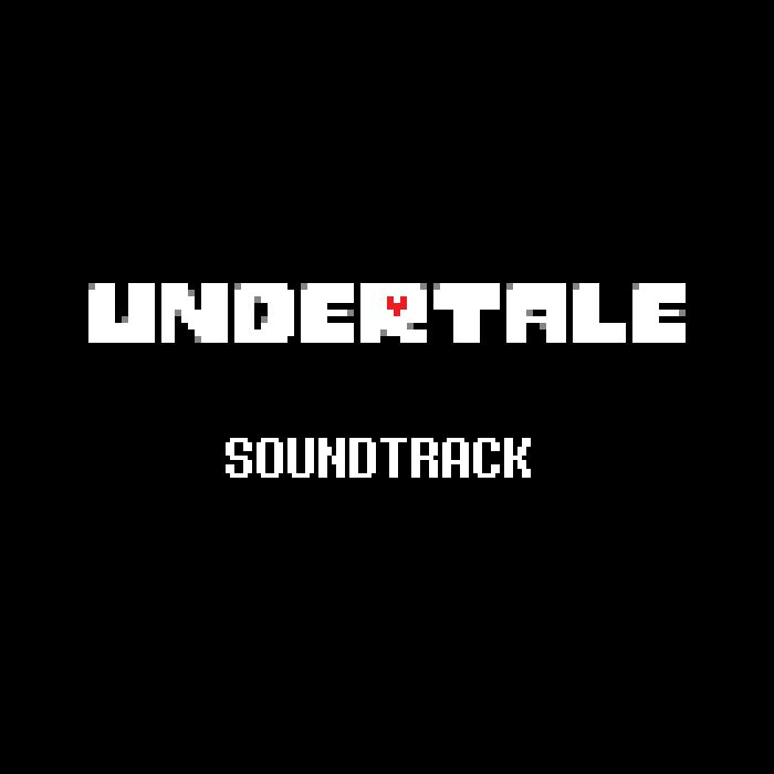 UNDERTALE Soundtrack cover art