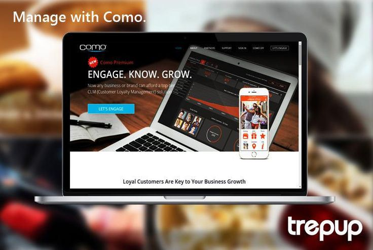 A loyal customer means a successful business. Manage them well with Como. http://bit.ly/1SUNVJb