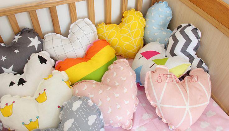 Aliexpress.com: Comprar 1 unid nubes Lindas/corazón/estrella forma de cojín algodón de Moda Bebé Niños Almohada Creativo Decoración Plus ropa de Cama de Bebé almohadas de relleno de almohadas fiable proveedores en cima store