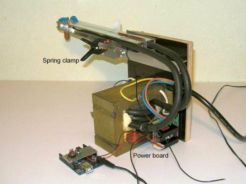 diy battery tab resistance fine spot welder arduino