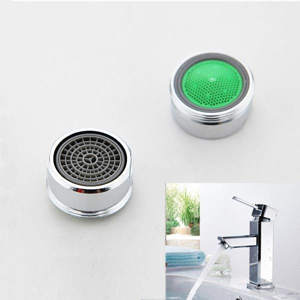 Chrome Thread Swivel Faucet Nozzle Aerator Filter Sprayer Faucet