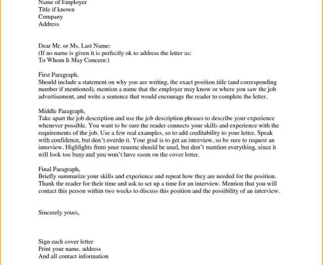 25 Cover Letter Salutation Examples For Job