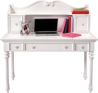 Disney Princess White Desk w Vanity Mirror & Hutch. $475.55. Desk 50L x 23W x 31H, Hutch 47 x 9 x 19H. Find affordable Desks for your home that will complement the rest of your furniture. #iSofa #roomstogo