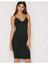 Cross Strap Sparkle Dress