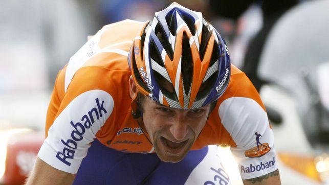Denis Mentschow am Giro im Mai 2009.