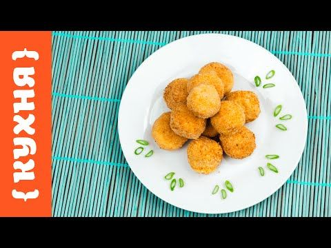 Хрустящие шарики из курицы - пошаговый рецепт с фото на Повар.ру