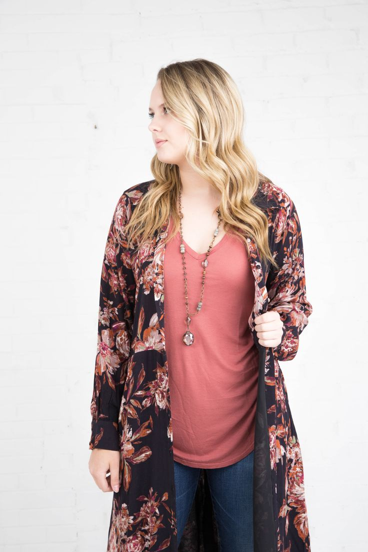 Miss Me Fall Floral Dress
