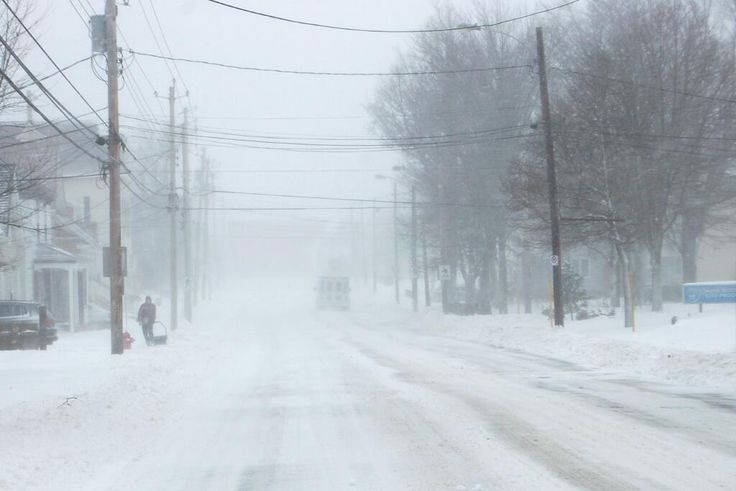 Queen Street in #Truro at about 4:55 pm