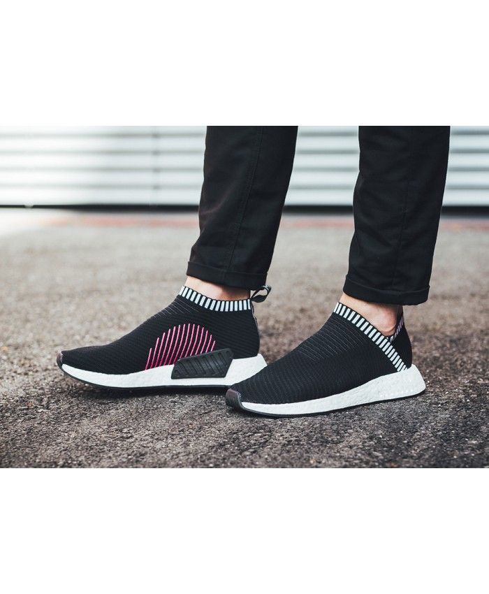 6e7813a30a35b Adidas NMD Cs2 Trainers In Black Pink Trainers Sale UK