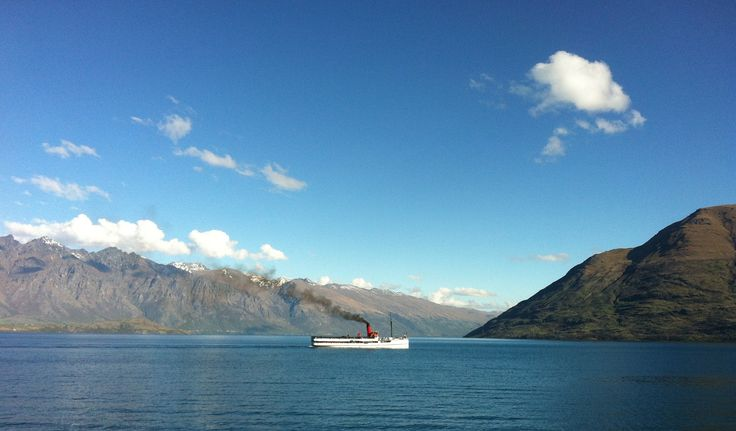 Yesterday was yet another picture perfect day on Lake Wakatipu!  Thanks to Charlene for the great pic of the TSS Earnslaw heading out to Walter Peak for the Gourmet BBQ Dinner.