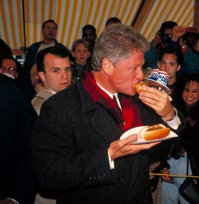 Obama S And Hillary S Pizza And Hot Dogs