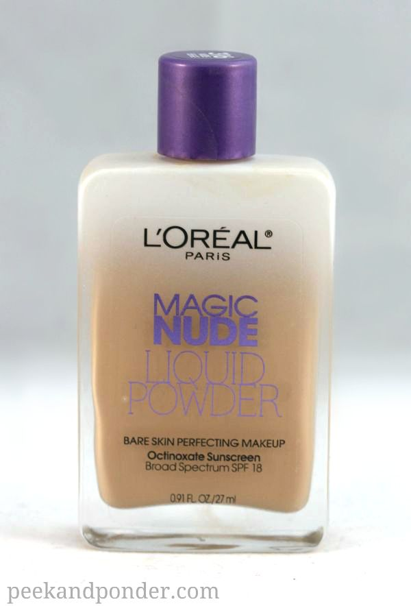 L'oreal Magic Nude Liquid Powder Foundation I can't talk about this enough! I usually use Dream matte mousse from maybelline in the summer, but my skin has been so dry this winter! This stuff feels so silky on my skin and makes my face look great! I get mine in Buff Beige or Sand.