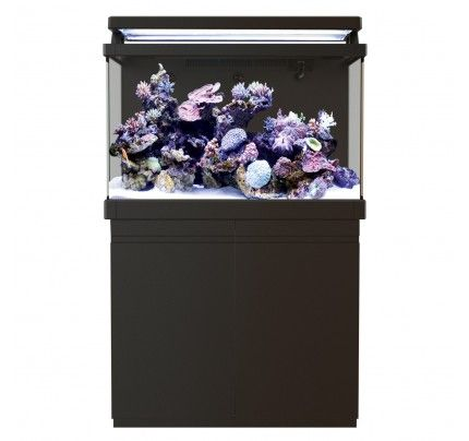 Red Sea MAX 400 S-Line Reef Aquarium System with Stand - Black - 110 gal