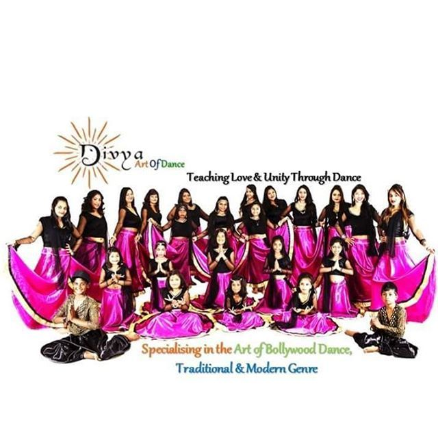 Our beautiful Divya Dance Family- originally saved from Divya Instagram page