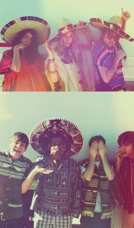 The 90210 boys and girls in Mexico !! Arriiibaa