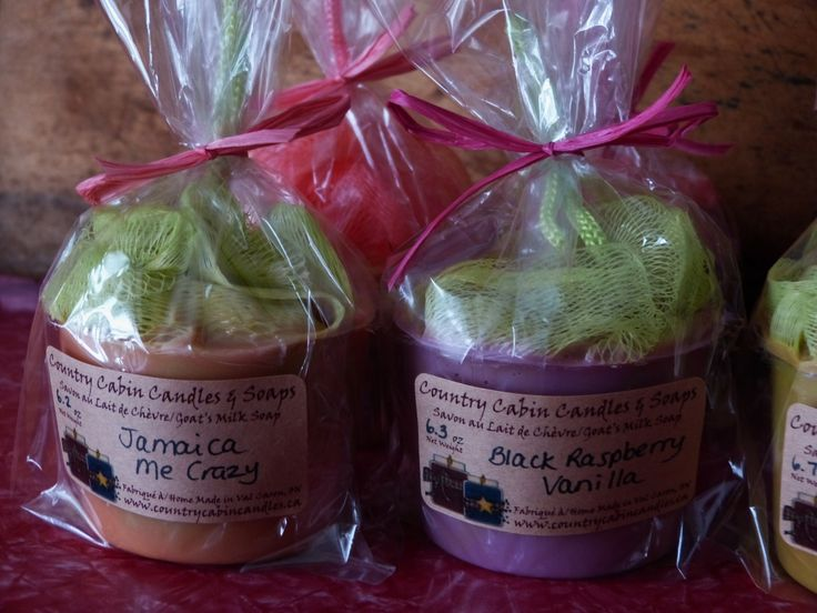 Soap on a Rope! Goat's Milk Soaps & More - Country Cabin Candles & Soaps
