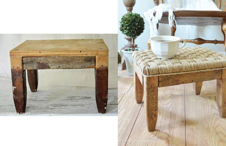 No te pierdas esta recopilación de imágenes de los antes y después de 50 muebles que han sido transformados.