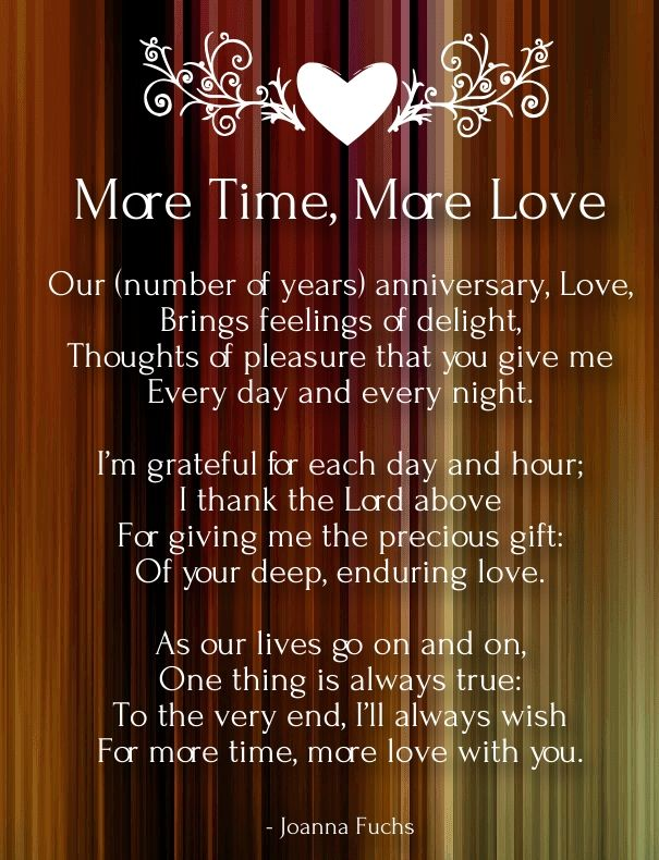 anniversary poems for husband                                                                                                                                                     More
