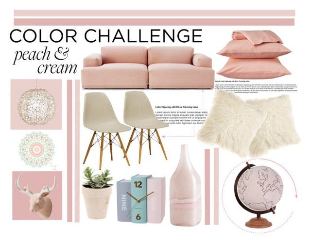 """Delightful Decor"" by serenahty ❤ liked on Polyvore featuring interior, interiors, interior design, home, home decor, interior decorating, Room Essentials, Muuto, Imm Living and Worlds Away"