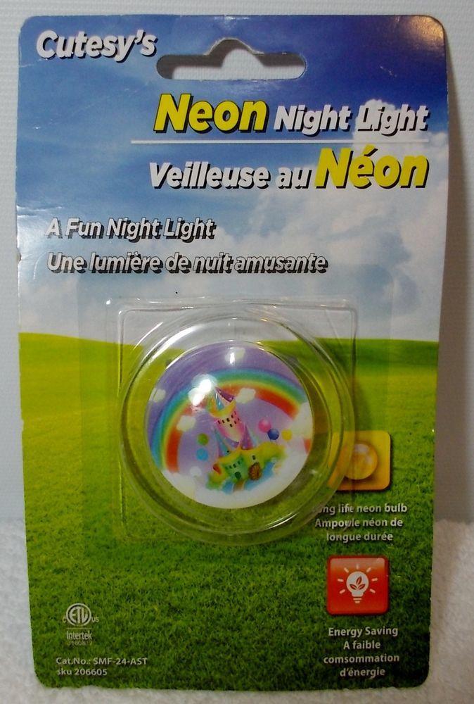 Cutesy's Princess Castle Energy Saving Long Life Fun Neon Childrens Night Light  #Cutesys