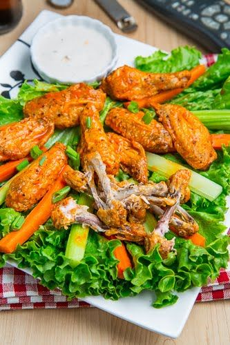 Easy Crispy Baked Buffalo Wings   Why I could never be on a diet ...