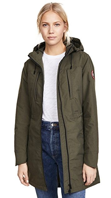fa44af16e4d Canada Goose Green Brossard Jacket | Women's Jackets and Coats ...