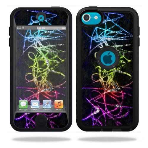 Protective Vinyl Skin Decal Cover for OtterBox Defender Apple iPod Touch 5G 5th Generation Case Neon MightySkins,http://www.amazon.com/dp/B00H5O8E3E/ref=cm_sw_r_pi_dp_NJ8dtb00MZ6VAYXS