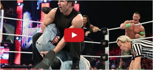 #JohnCena, Roman Reigns  Dean Ambrose vs. #TheWyattFamily: #Raw, June 9, 2014  http://videos.chdcaprofessionals.com/2014/06/john-cena-roman-reigns-dean-ambrose-vs.html