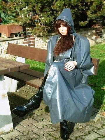 Lovely grey klepper cape