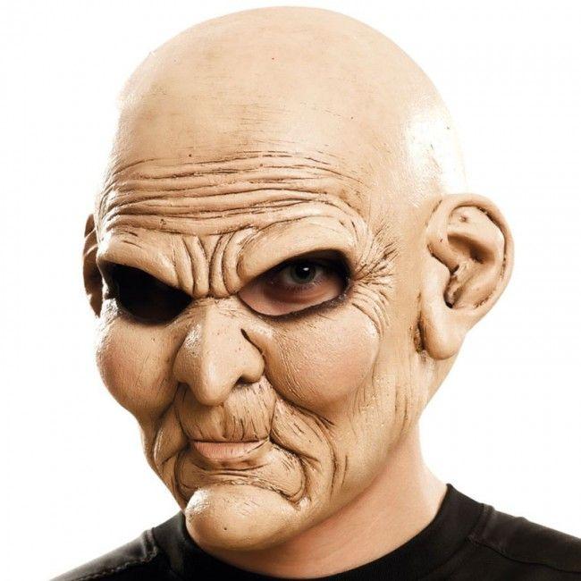 Máscara Psicópata Anciano #máscaras #antifaces