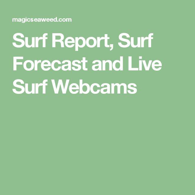Surf Report, Surf Forecast and Live Surf Webcams