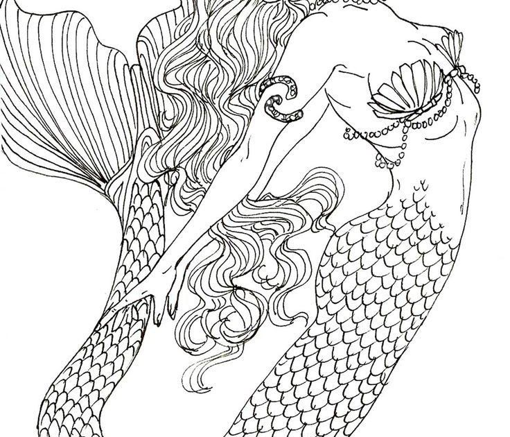 Realistic Mermaid Coloring Pages Download And Print For Free Colouring Pages For Mermaids En Mermaid Coloring Pages Mermaid Coloring Book Fairy Coloring Book