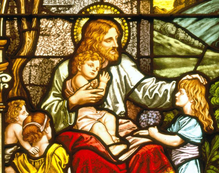 Stained Glass Jesus Pictures