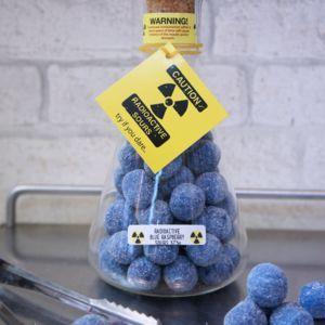 Radioactive Blue Raspberry Sours