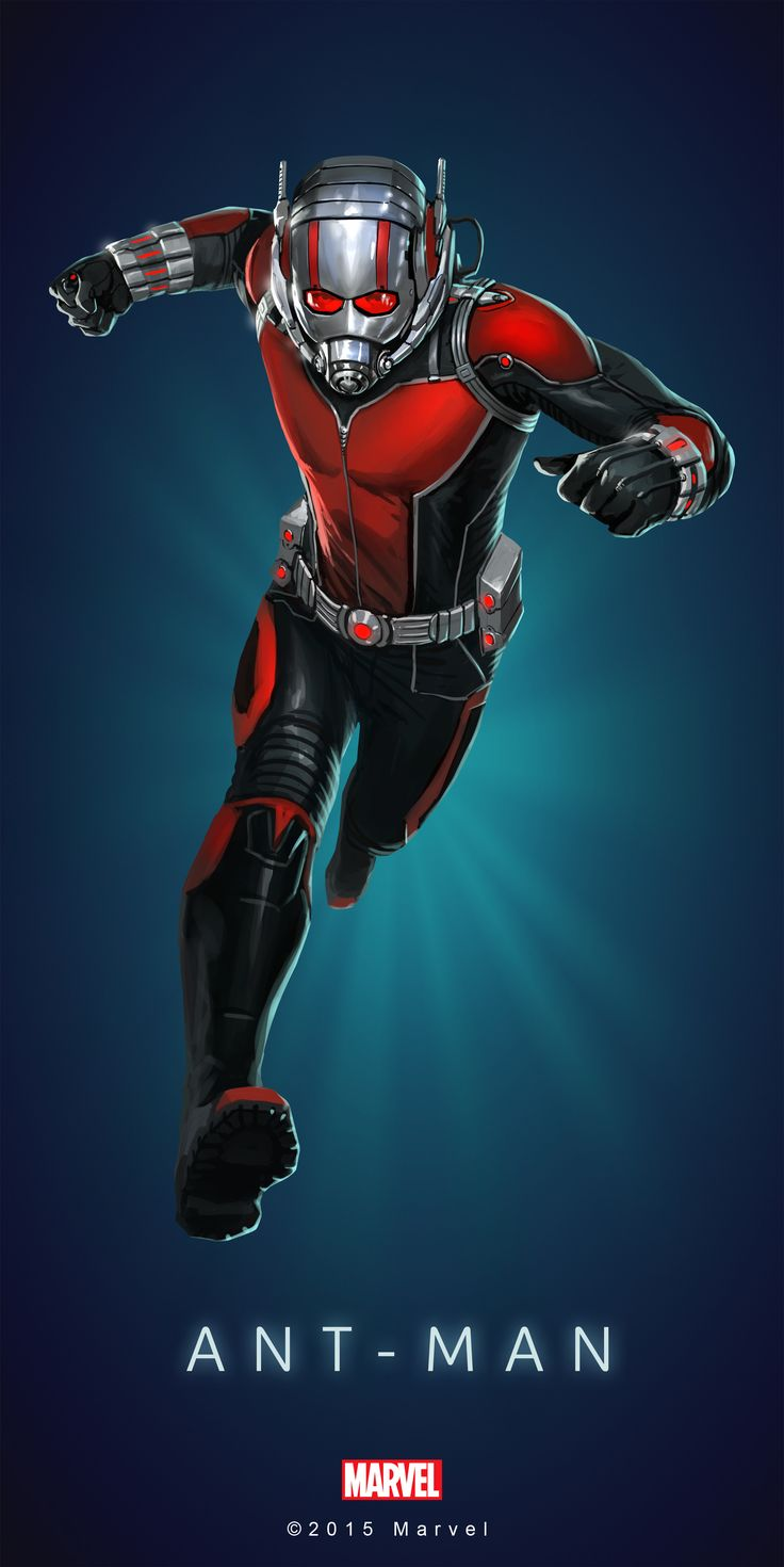 It is a photo of Sassy Marvel Heroes Ant Man