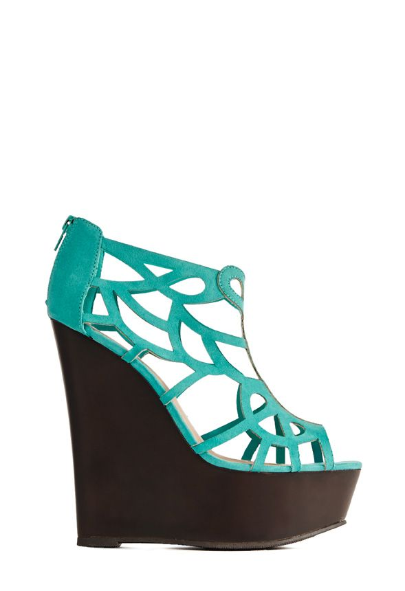 Chett by JustFab  is an essential sexy wedge with an extra dose of attitude. Wear it from work to a night out with your girlfriends!
