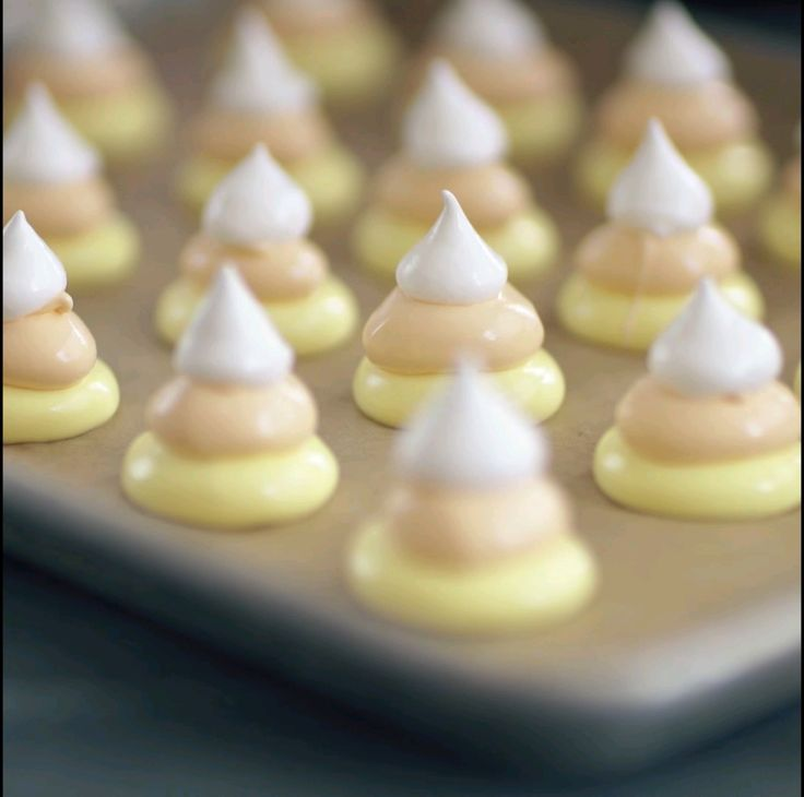 Prepping Candy Corn Meringues