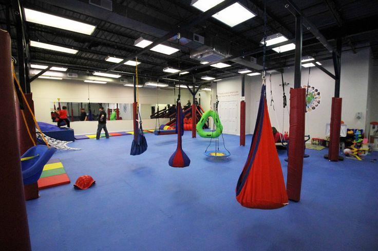sensory-safe kid's gym